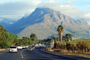 R304 towards Stellenbosch